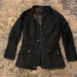 Barbour Barrowdale Waxed Cotton Coat